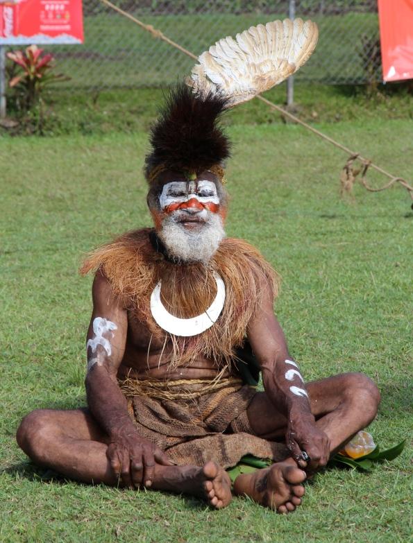Performer, Goroka Show, Papua New Guinea