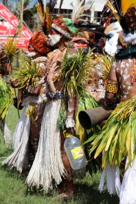 Goroka Show, rope skirts, 2014
