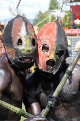 Goroka Show—Junife tribe