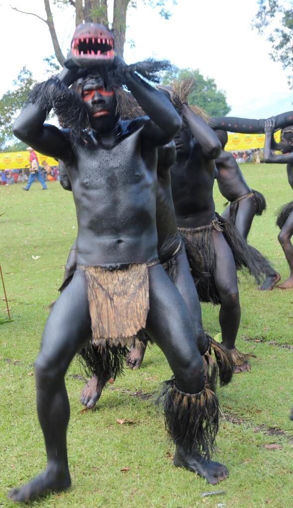 Snake dancers, Goroka Show
