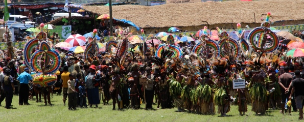 Goroka Show performers