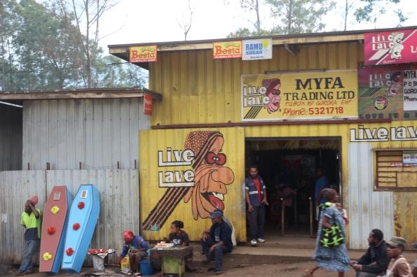 Goroka shop