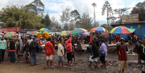 Goroka's market