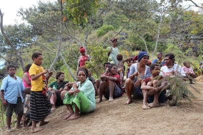 Asaro villagers