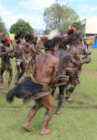 PNG penis gourd dancers