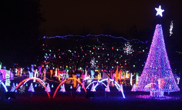Rhema light display