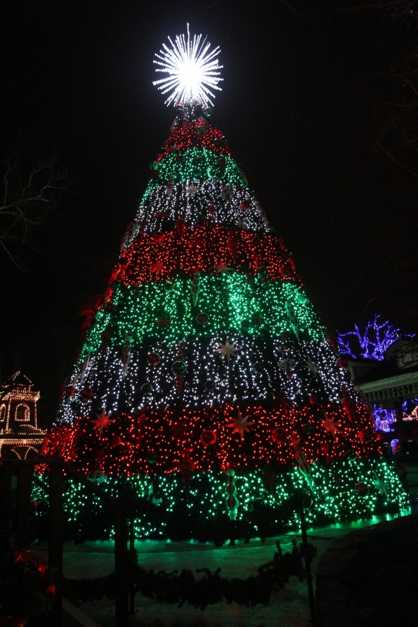 Silver Dollar City's Christmas tree