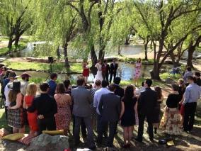 Hannah and Mauro's wedding