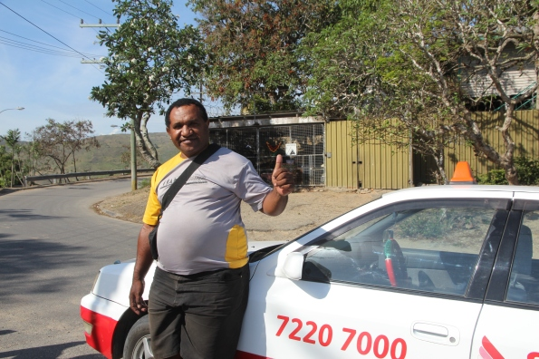 PNG taxi driver
