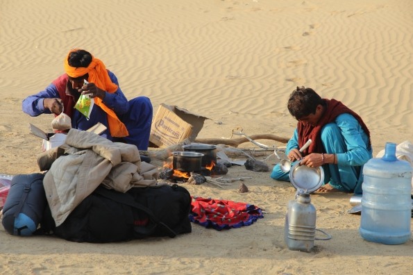 Thar Desert cooking