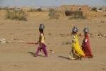 fetching water, Thar Desert