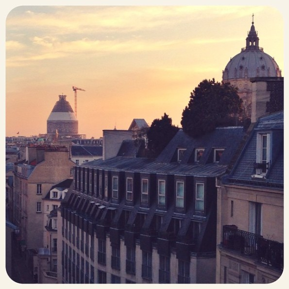 view in Paris
