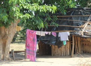 village clothesline