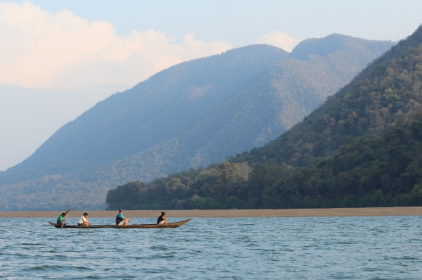 Mahanadi River canoe ride