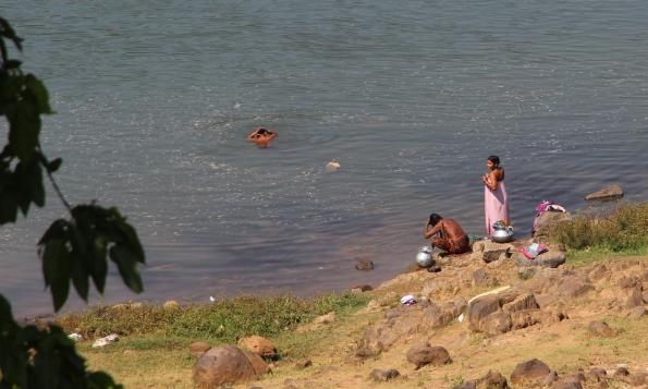 river life India
