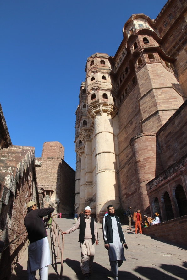 Mehrangarh fort wall