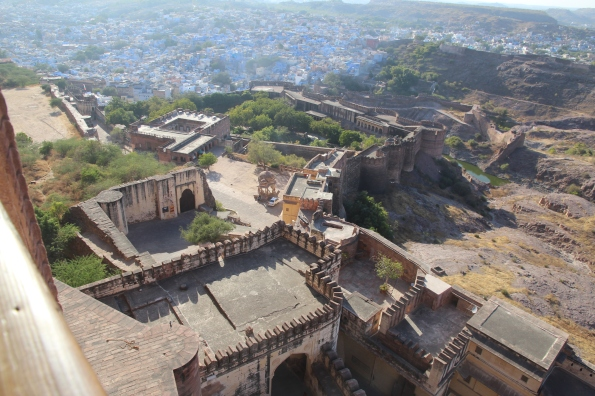 View from Mehrangarh Fort