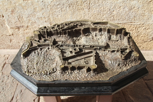 Model of Mehrangarh Fort