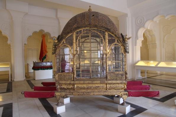 ornate palanquin