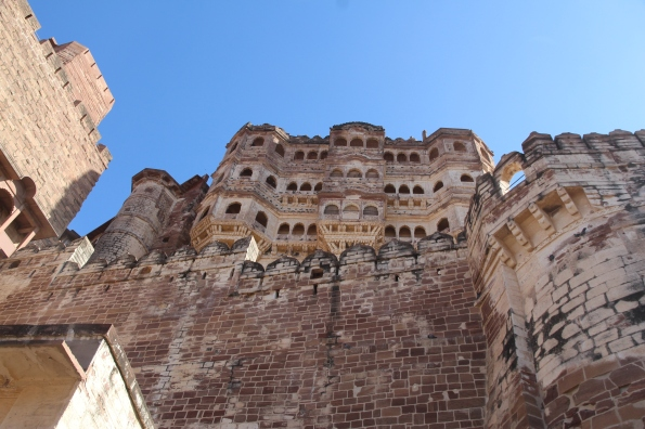 scarred fort wall