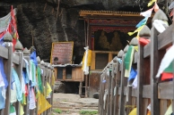 altar to Pema Lingpa
