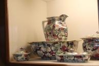 floral washbowl set