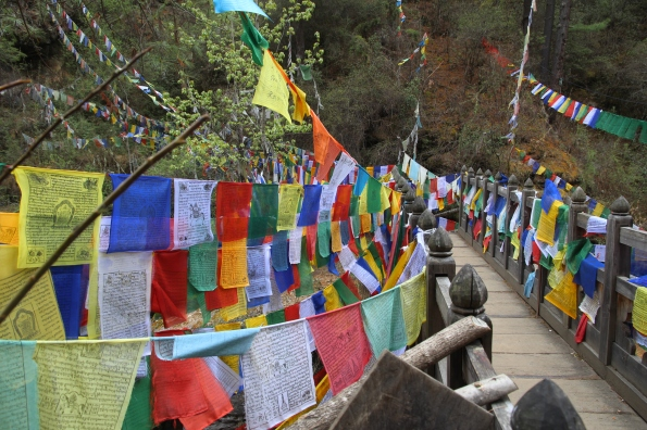 prayer flags, Burning Lake