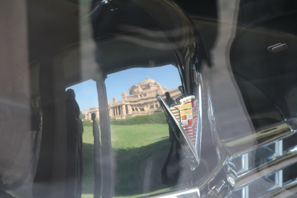 reflected palace