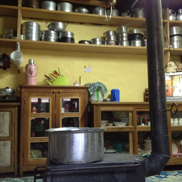 Bhutanese kitchen
