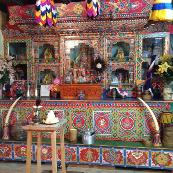 Bhutanese shrine