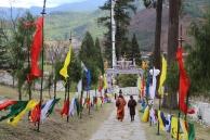 At Rinpung Dzong, Paro