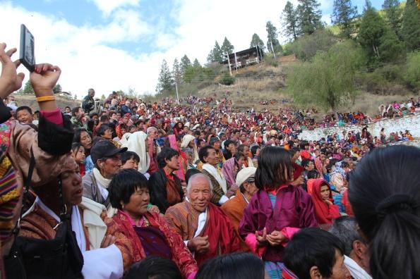 Thousands attend the Paro Festival