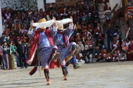 two dancers Paro