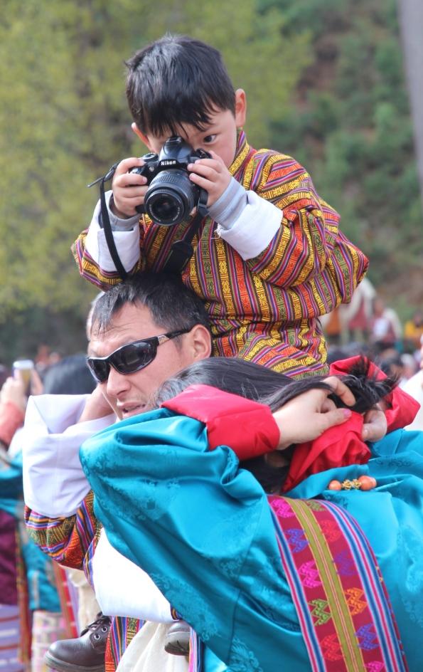 A budding photographer, Paro Fesitval