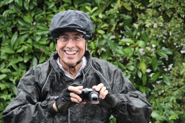 Chuck in wet weather gear