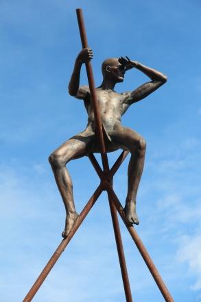 Lavarenne sculpture, standing