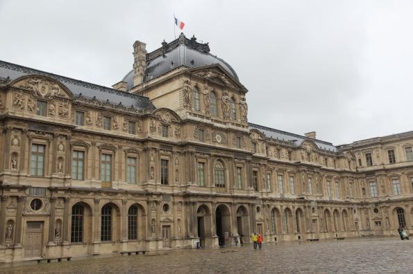 Louvre exterior