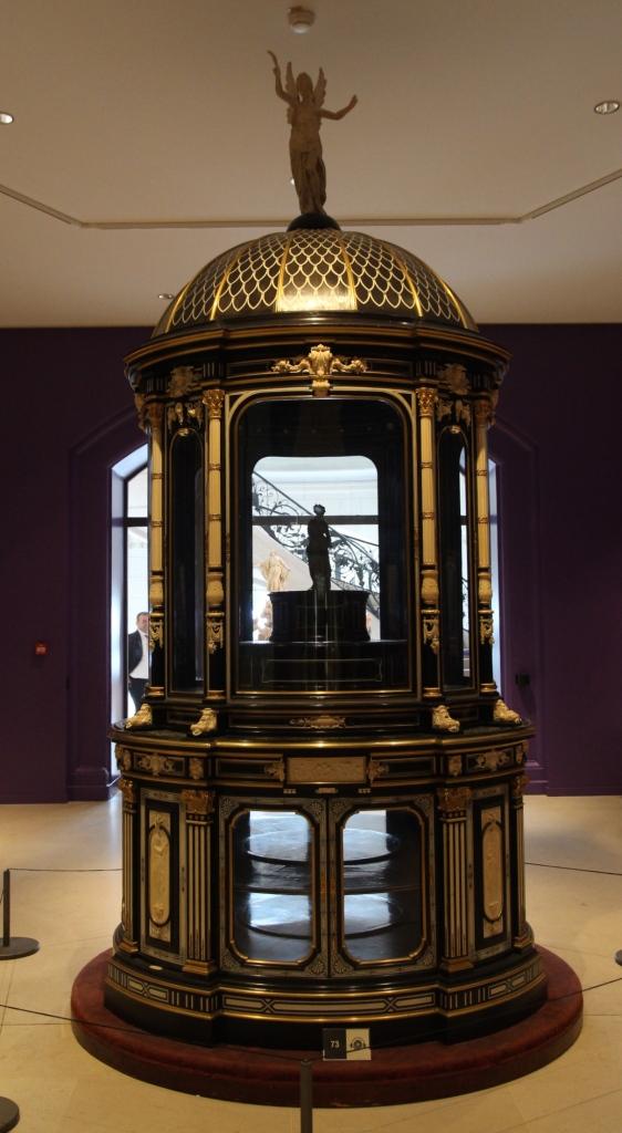 Vitrine from 1867, Petit Palais
