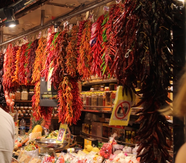 Chillies in Barcelona