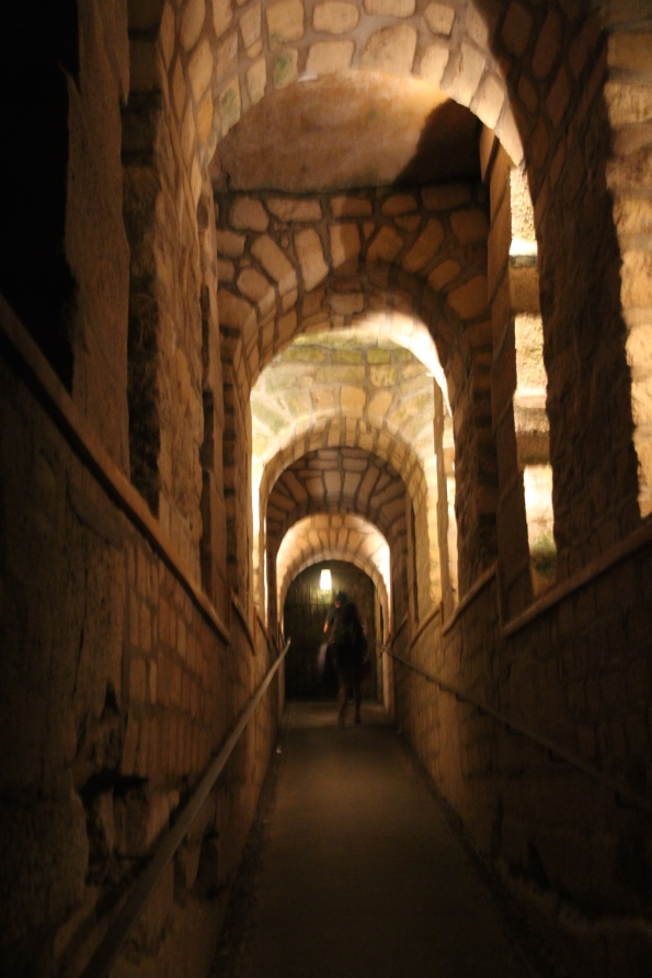 In to the catacombs