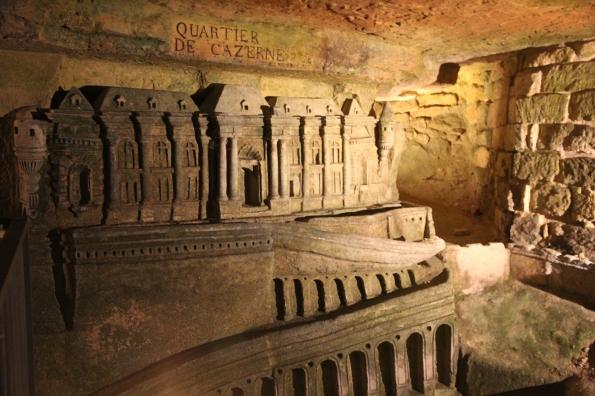 Port Mahon sculpture, Paris catacombs