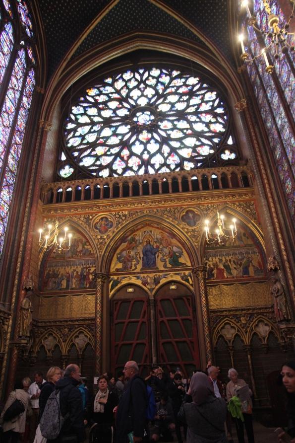 Rose window, Sainte-Chapelle