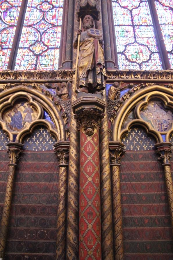 Sainte-Chapelle column