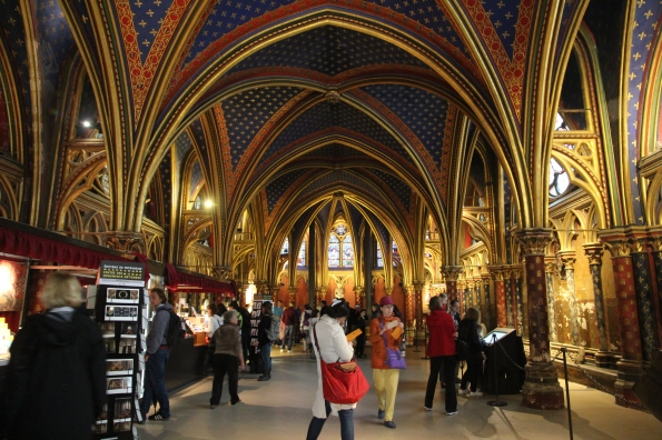 Sainte-Chapelle downstairs
