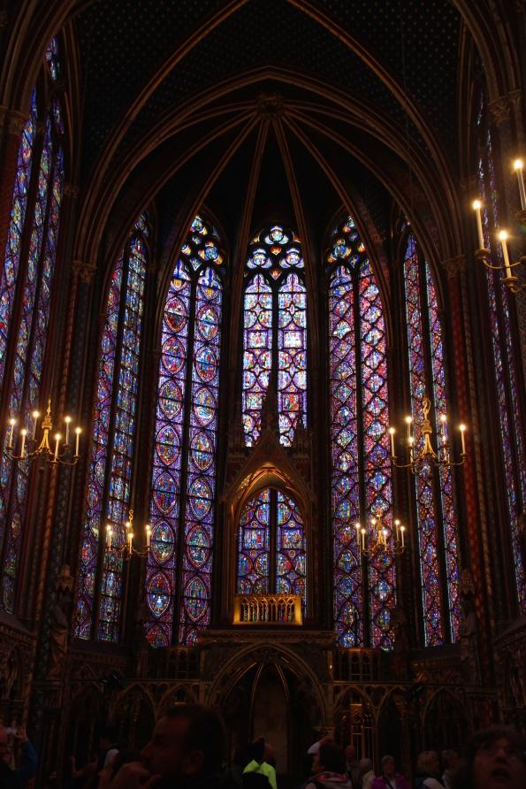 central window, Sainte-Chapelle