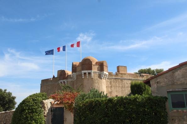 St Tropez's citadel