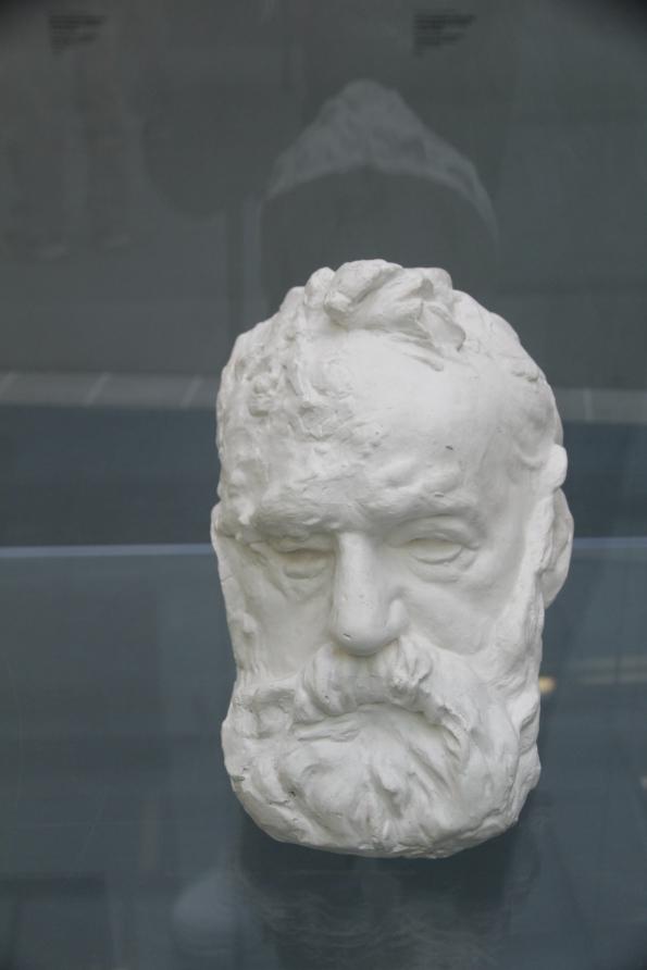 Head of Victor Hugo