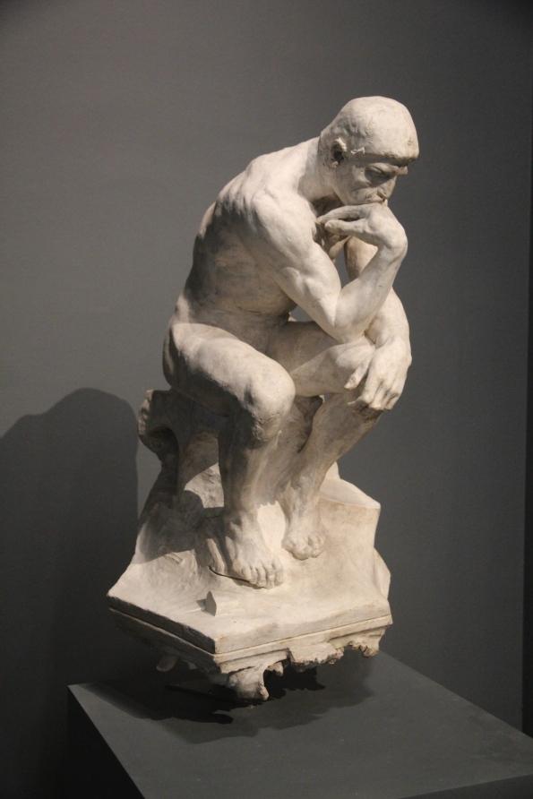 The Thinker, plaster