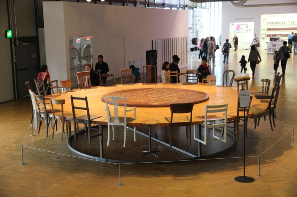 Round table by Chen Zhen