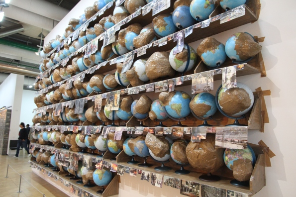 Wrapped globes